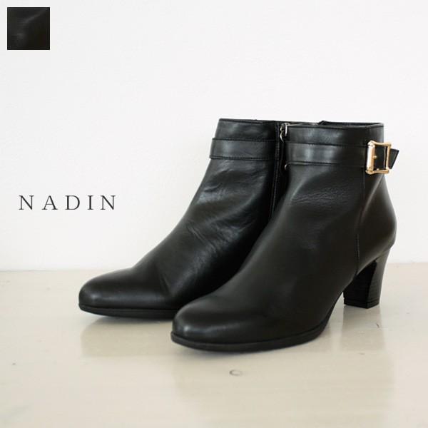 NADIN (ナディン) ベルト付き ショート ブーツ 86/2305 / 返品不可|amico-di-ineya