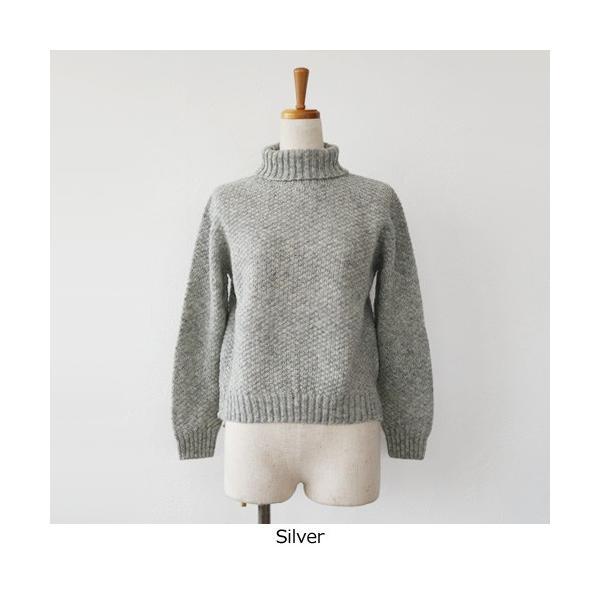 Aparaya アパラヤ ウール タートルネック ニット プルオーバー セーター APF173002 amico-di-ineya 04