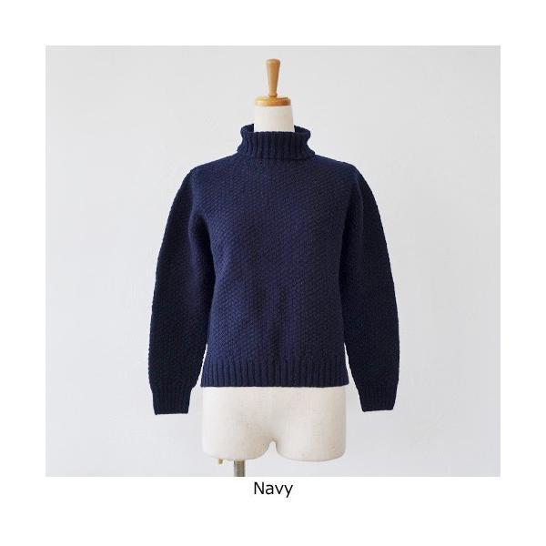 Aparaya アパラヤ ウール タートルネック ニット プルオーバー セーター APF173002 amico-di-ineya 06