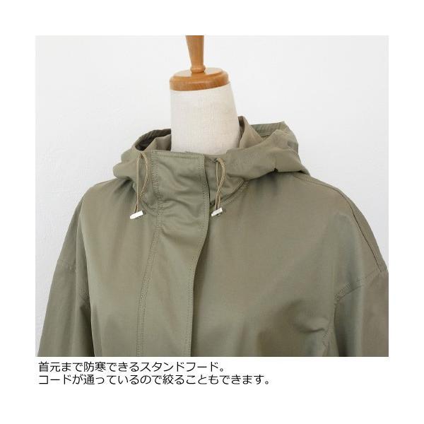 BRAHMIN スプリングコート フード サイドスリット ブラーミン B54671|amico-di-ineya|02