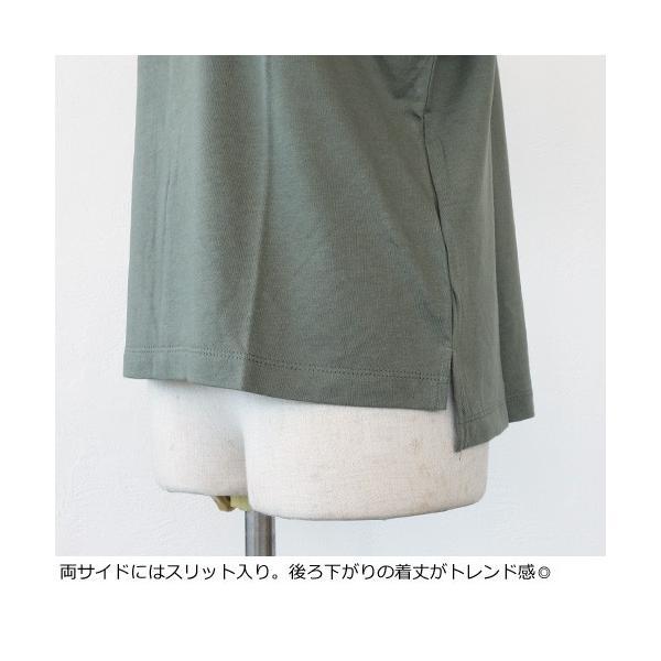 BRAHMIN Tシャツ スヌーピー コラボ PEANUTS コットン リヨセル サイドスリット ブラーミン B84401|amico-di-ineya|05