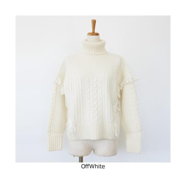 [SALE] BRAHMIN セーター ニット プルオーバー タートルネック ケーブル編み フリンジ ブラーミン B94607 20%OFF 返品不可|amico-di-ineya|07