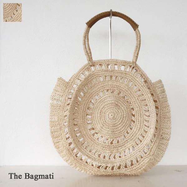 The Bagmati ザバグマティ アバカ レザー サークル型 かご バッグ BBK18-38|amico-di-ineya