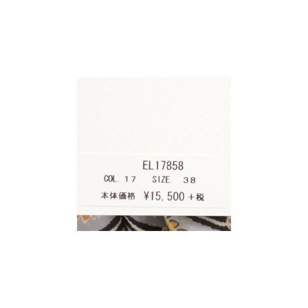 Le minor ルミノア リバティ ウエストゴム ロング ギャザー スカート コットン EL17858 |amico-di-ineya|09