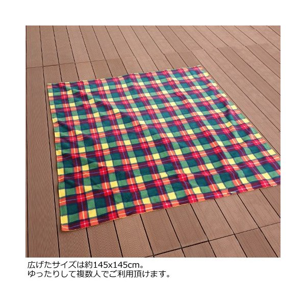 TWEEDMILL ラグ レジャーシート 防水 ツイードミル Rug Roll Waterproof Rug 145cm x 145cm|amico-di-ineya|04