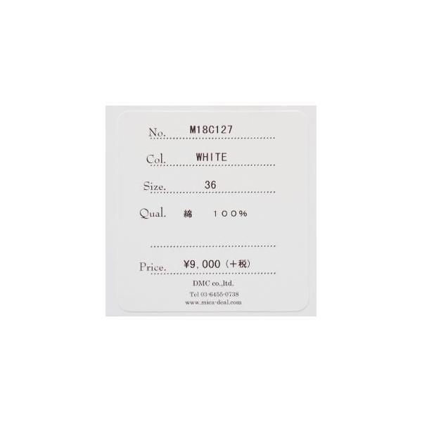 MICA&DEAL 長袖Tシャツ フロントロゴ PREMASTER サイドスリット コットン マイカアンドディール M18C127|amico-di-ineya|09