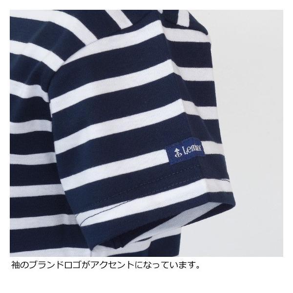 Le minor (ルミノア) コットン ボートネック 半袖 Tシャツ MARINIERE MC amico-di-ineya 04