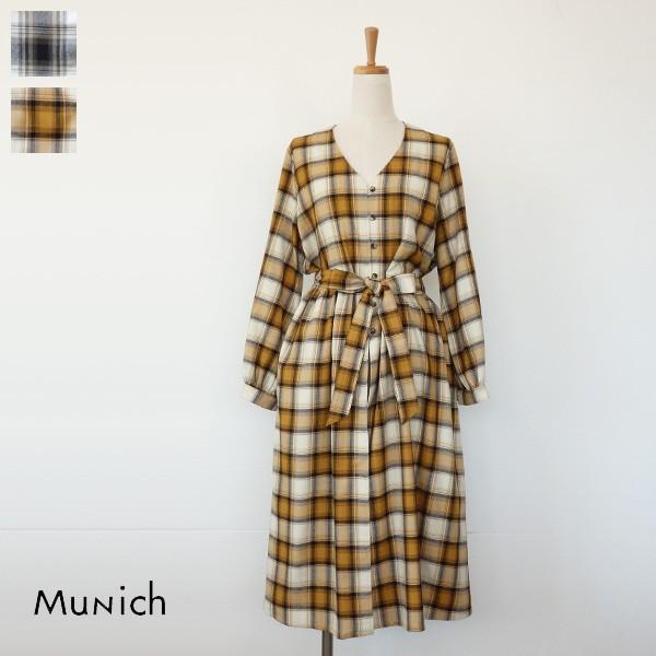 Munich ワンピース チェック ミューニック MN182C31|amico-di-ineya