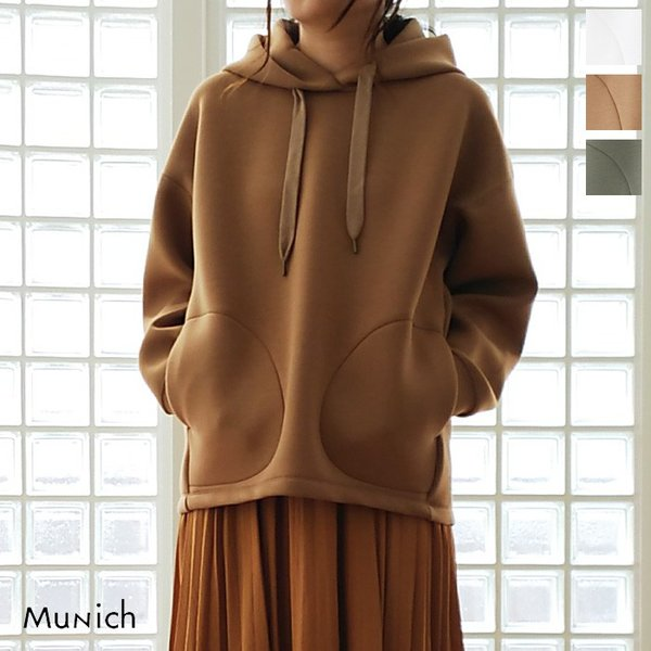 Munich (ミューニック) パーカー ダンボールスポンジ プルオーバー MN192U17|amico-di-ineya
