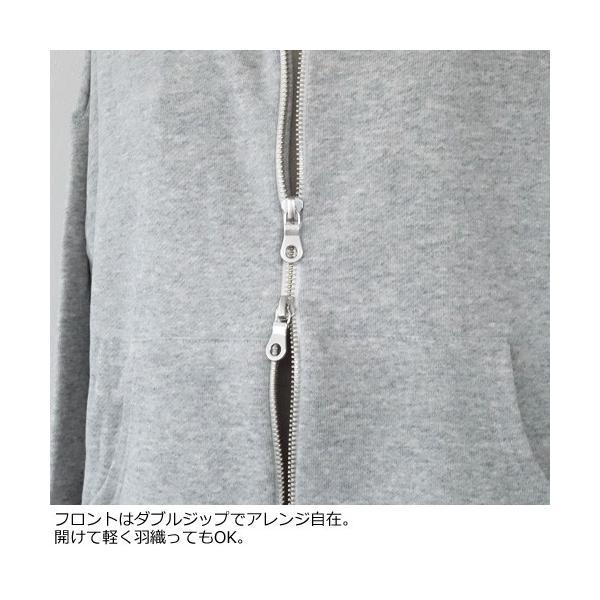 SONO パーカー バックフリル 裏毛 コットン ソーノ S184TV044|amico-di-ineya|04