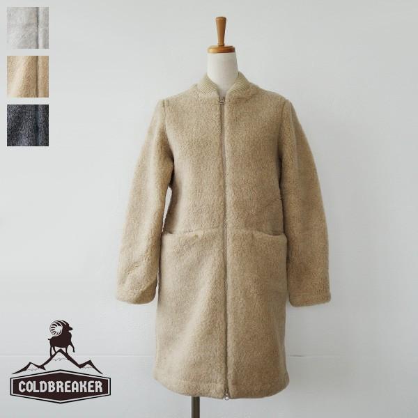 Cold Breaker コールドブレイカー ウール ボアパイル ロングコート SLP|amico-di-ineya