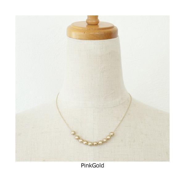 Vintage&Petals ビンテージアンドペタルス コットンパール ネックレス VP155026|amico-di-ineya|04