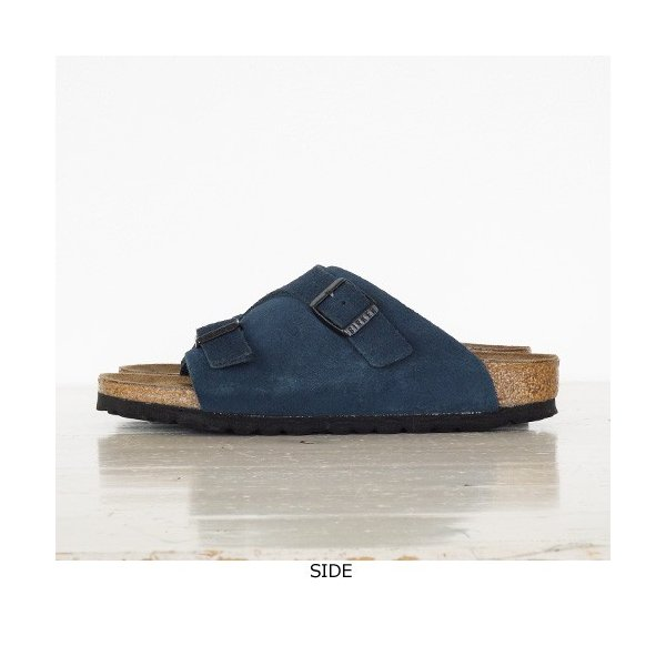 BIRKENSTOCK Zurich Suede Leather サンダル ビルケンシュトック チューリッヒ [ナローフィット]|amico-di-ineya|06