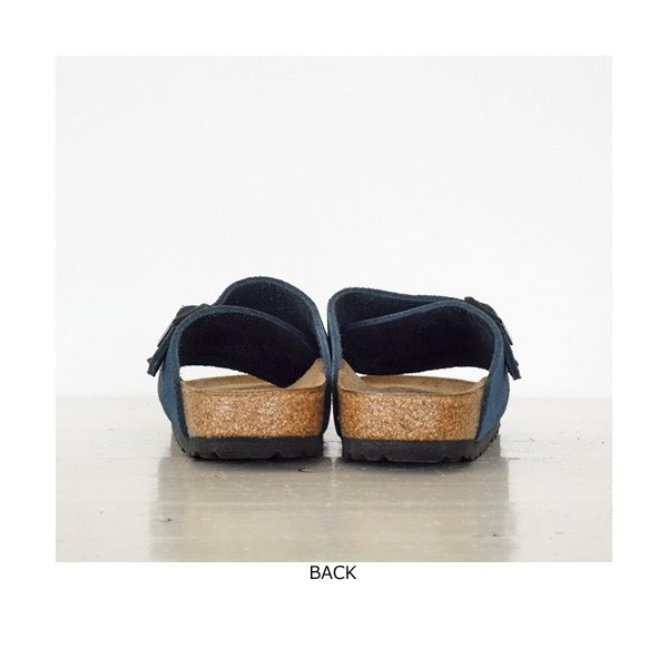 BIRKENSTOCK Zurich Suede Leather サンダル ビルケンシュトック チューリッヒ [ナローフィット]|amico-di-ineya|07