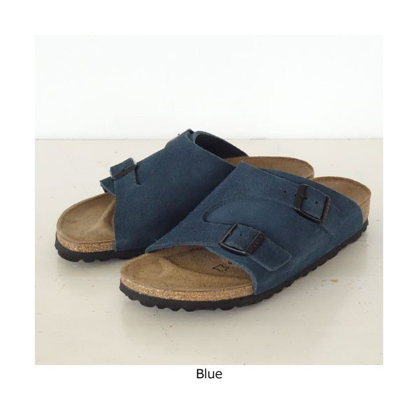 BIRKENSTOCK Zurich Suede Leather サンダル ビルケンシュトック チューリッヒ [ナローフィット]|amico-di-ineya|08