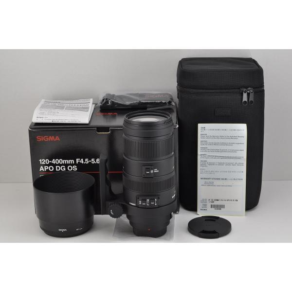 SIGMA AF APO 120-400mm F4.5-5.6 DG OS HSM SONY/MINOLTA αマウント