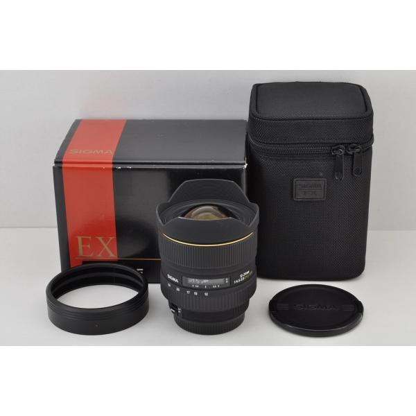 SIGMA AF 12-24mm F4.5-5.6 EX DG ASPHERICAL HSM Canon EFマウント