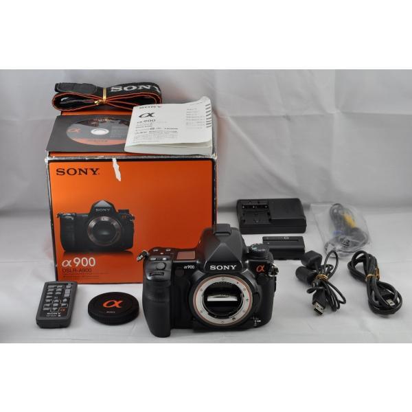 SONY α900 DSLR-A900 ボディ ブラック デジタル一眼レフカメラ 元箱付き