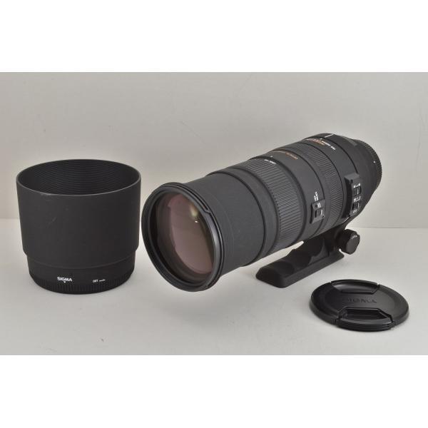 ★美品★SIGMA シグマ APO 150-500mm F5-6.3 DG OS HSM Canon キヤノン用 EFマウント フード付