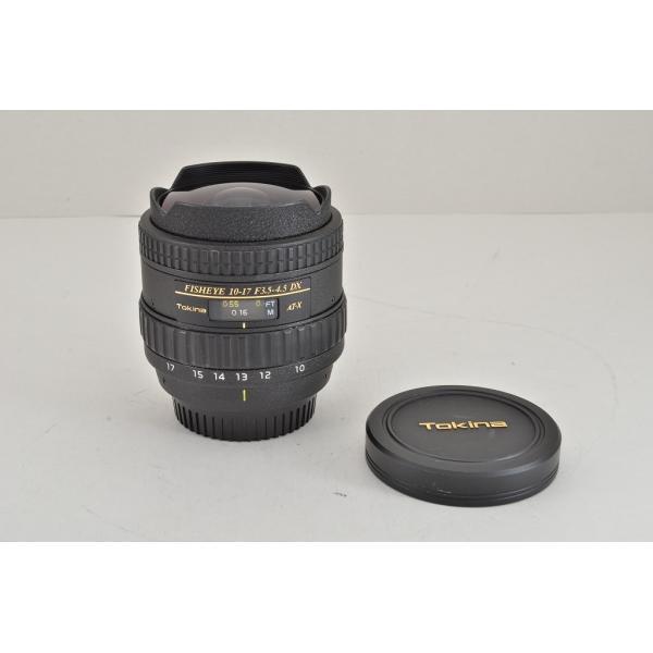 Tokina トキナー AT-X 107 DX FISHEYE 10-17mm F3.5-4.5 Nikon ニコン用 Fマウント APS-C