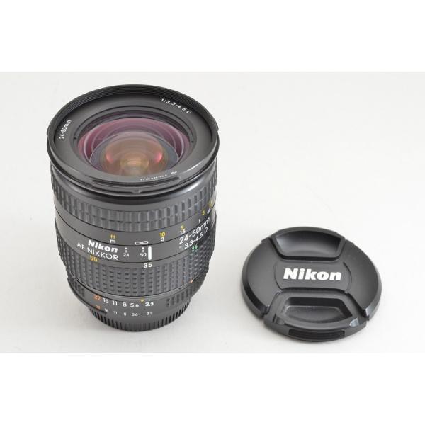 Nikon ニコン AF ZOOM NIKKOR 24-50mm F3.3-4.5D ズームレンズ