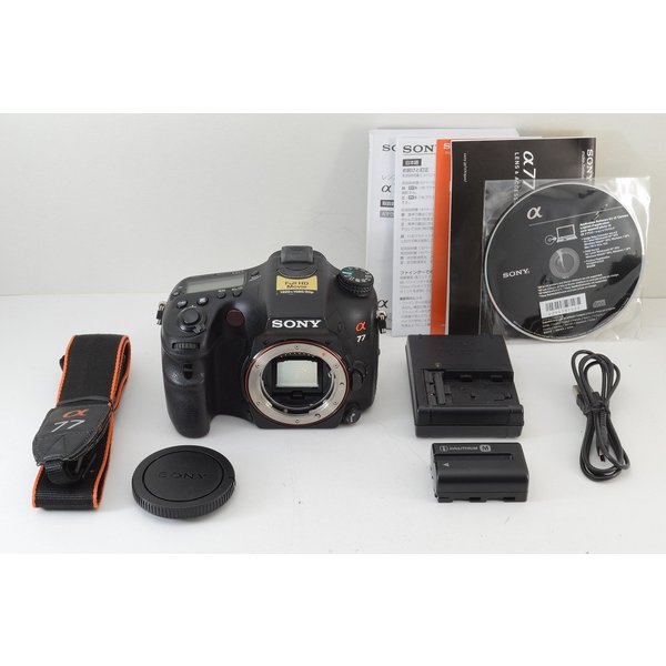 ★僅か4,000ショット★SONY ソニー α77 ボディ SLT-A77V デジタル一眼レフカメラ