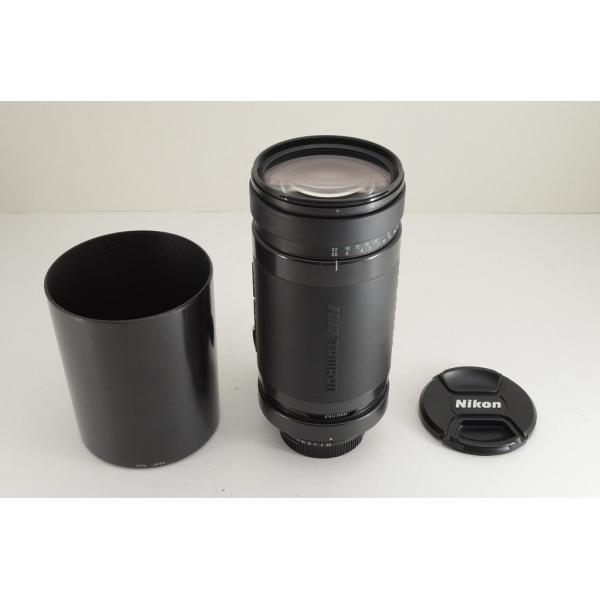 ★美品★TAMRON タムロン AF 200-400mm F5.6 LD IF 75D Nikon ニコン用 Fマウント フード付