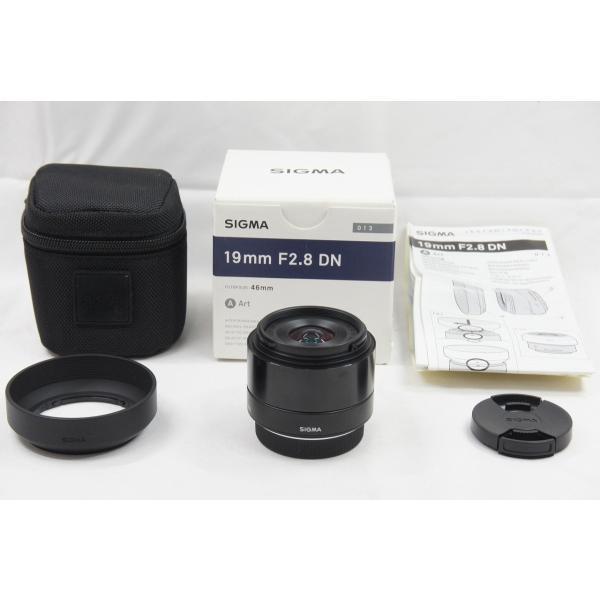 ★超美品★SIGMA シグマ Art 19mm F2.8 DN ブラック マイクロフォーサーズ 元箱付