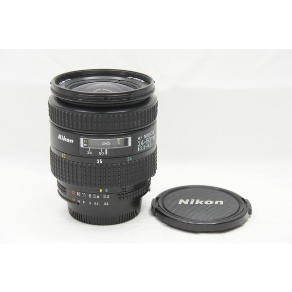 ★訳あり品★Nikon ニコン AF ZOOM NIKKOR 24-50mm F3.3-4.5 ズームレンズ