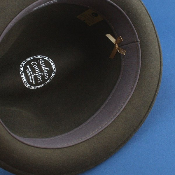 フェルトハット 中折れ帽子 ロックンロール ブラウン|ammax|06