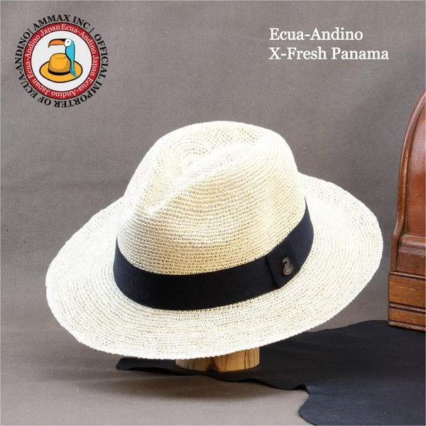 パナマハット エクアアンディーノ エクスプローラー 独特なテイストのパナマ帽子|ammax