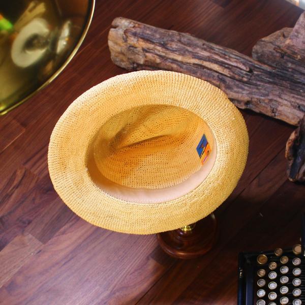 パナマハット エクアアンディーノ エクスプローラー 独特なテイストのパナマ帽子|ammax|05