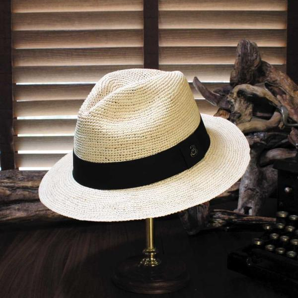 パナマハット エクアアンディーノ エクスプローラー 独特なテイストのパナマ帽子|ammax|08