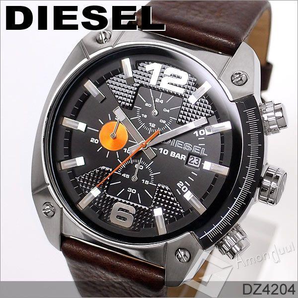 ディーゼル DIESEL クロノグラフ腕時計 ディーゼル メンズ DZ4204|amonduul|02