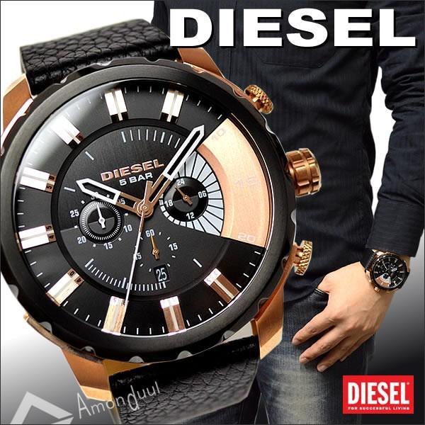 ディーゼル DIESEL クロノグラフ腕時計 ディーゼル メンズ DZ4347 ストロングホールド|amonduul