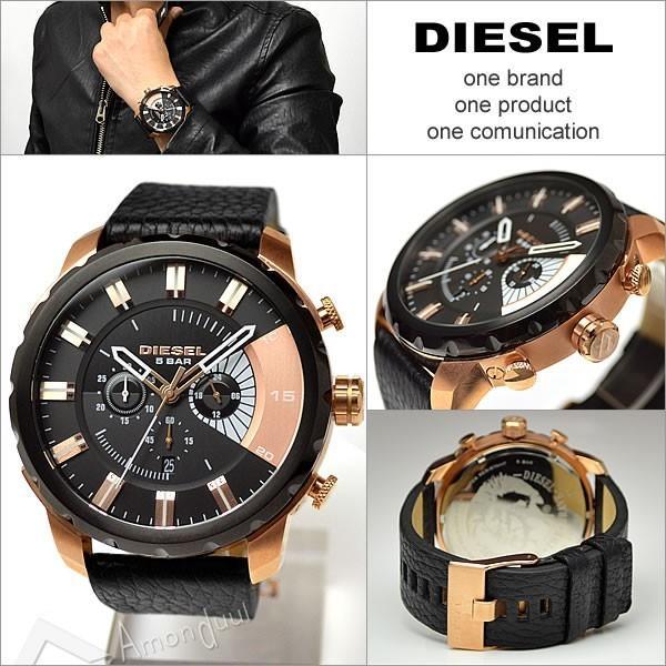 ディーゼル DIESEL クロノグラフ腕時計 ディーゼル メンズ DZ4347 ストロングホールド|amonduul|05