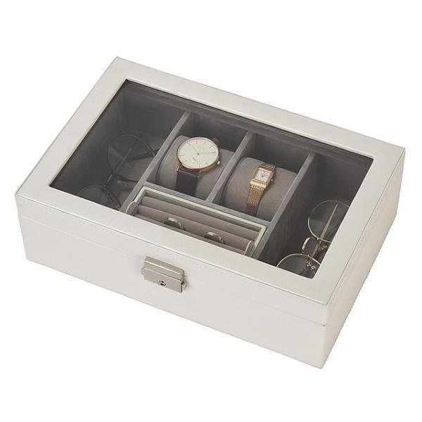 アクセサリー・腕時計ケース ウォッチボックス 腕時計ケース ウォッチケース メンズ・レディース 眼鏡ケース|amonduul|04