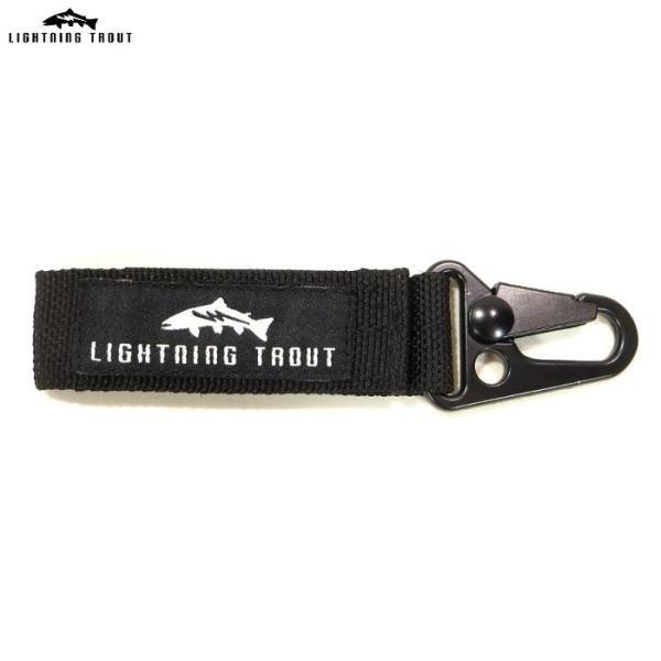 LIGHTNING TROUT ライトニングトラウト  小物 グッズ Nylon Belt Key Holder キーホルダー モールシステム対応 キーフック