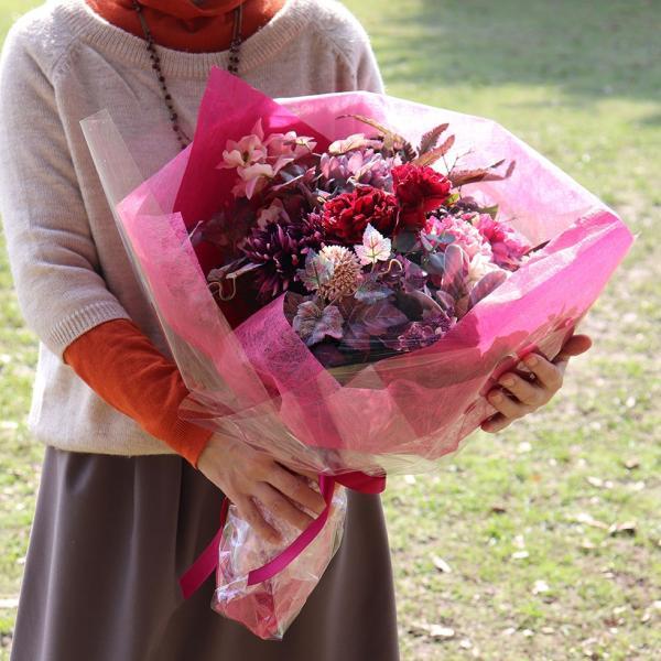 造花 インテリア リアル 高級  おしゃれ アーティフィシャルフラワー アレンジ 開店祝い 移転祝い 開業祝い 就任祝い  花「ラナンキュラス」器なし|ampoule-shop|12