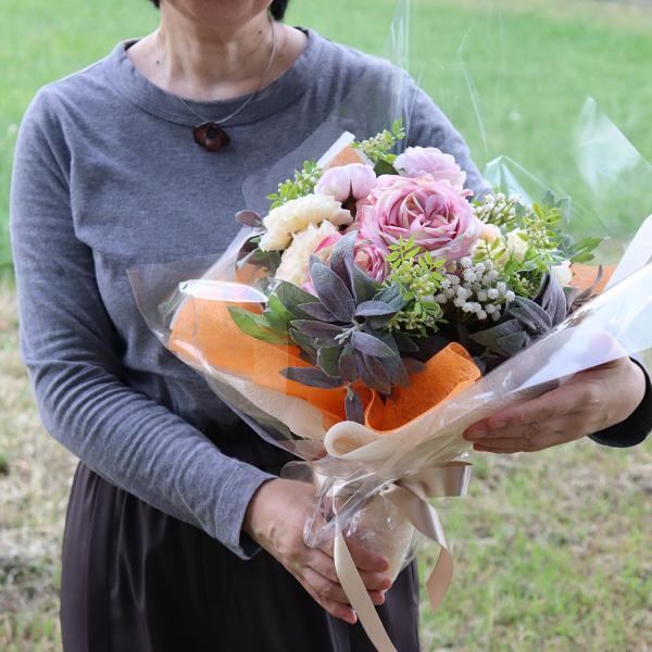 造花 インテリア リアル 高級  おしゃれ アーティフィシャルフラワー アレンジ 開店祝い 移転祝い 開業祝い 就任祝い  花「ラナンキュラス」器なし|ampoule-shop|07