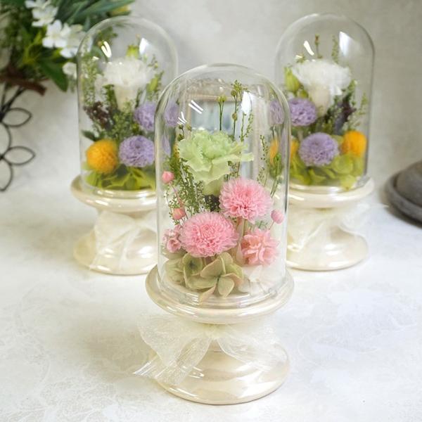 プリザーブドフラワー仏花タイプをご希望の方はこちらをご覧ください。