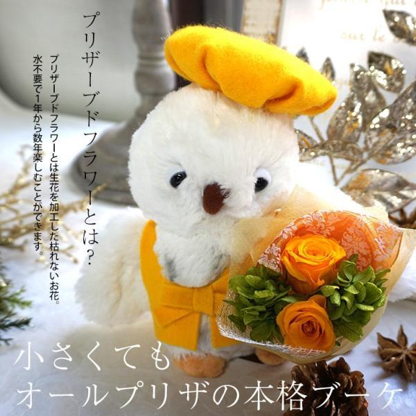 古希のお祝い 喜寿のお祝い 傘寿のお祝い 米寿のお祝い プレゼント  還暦祝い 祖母 贈り物 ちゃんちゃんこ  プリザーブドフラワー ふくろうのお祝い(花束付)|ampoule-shop|13