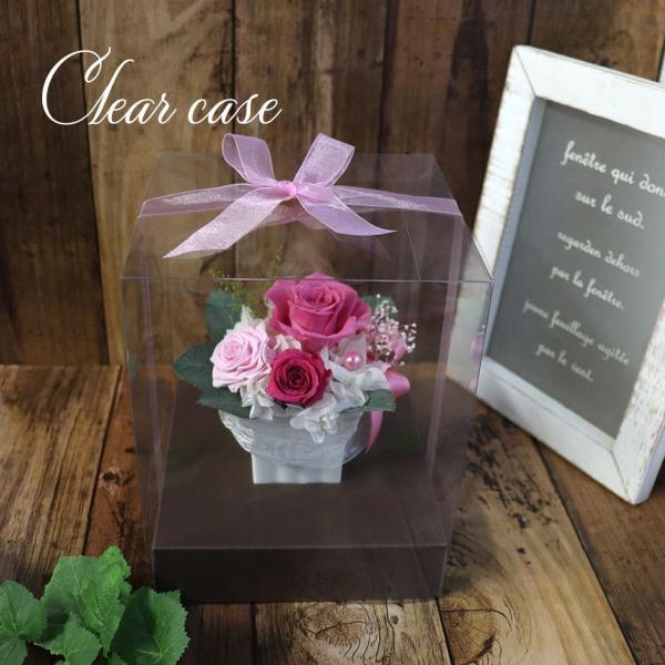 プリザーブドフラワー プレゼント ギフト 結婚式 電報  花 誕生日プレゼント 女性 母 退職祝い 結婚祝い バラ ブリザードフラワー 初めてのプリザ|ampoule-shop|13