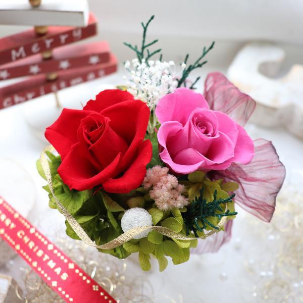 プリザーブドフラワー プレゼント ギフト 結婚式 電報  花 誕生日プレゼント 女性 母 退職祝い 結婚祝い バラ ブリザードフラワー 初めてのプリザ|ampoule-shop|17