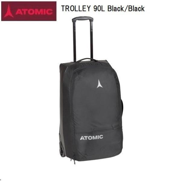 アトミック 2021 ATOMIC TROLLEY 90L Black/Black アトミック 大型 トラベルバック スキー キャスター付き AL5047420