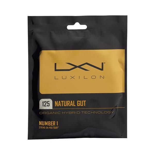 「パッケージ品」ルキシロン(LUXILON) 2017 ナチュラルガット 1.30mm(WRZ949130) 1.25mm(WRZ949125)