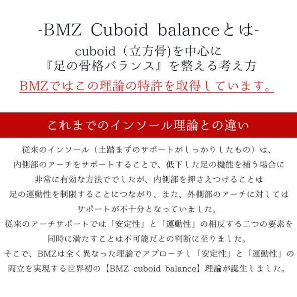 【Cuboid理論 特許取得インソール】BMZ キュボイドパワー スタンダード【2017年6月登録 中敷き】