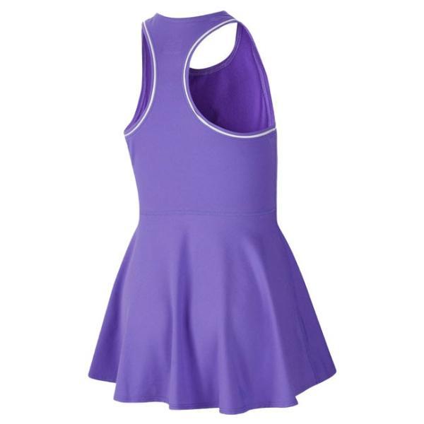ナイキ(NIKE) 2019 FA ジュニア(ガールズ) コート DRI-FIT ドレス AR2502-550サイキックパープル×ホワイト(19y6mテニス)|amuse37|02