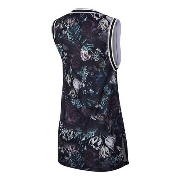 [USサイズ]ナイキ(NIKE) レディース コート ドレス AO0366-010ブラック×オキシゲンパープル(19y5mテニス)|amuse37|02