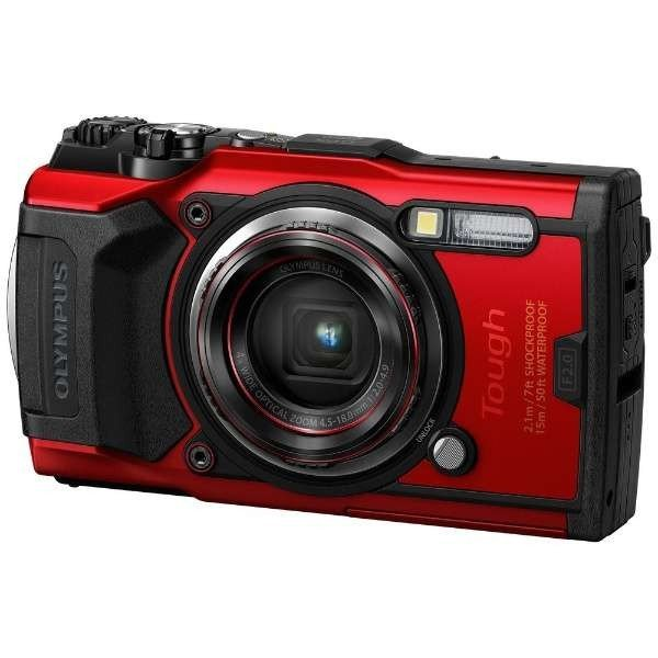 OLYMPUS Tough TG-6 レッド オリンパス コンパクトデジタルカメラ ★|amuseland|02